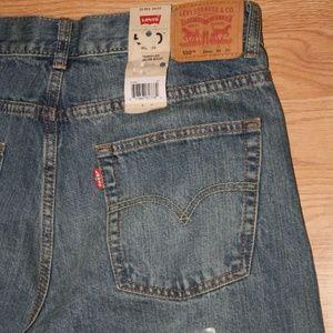Boys sz 20 Reg NWT Levi's 550 30x30 jeans relaxed